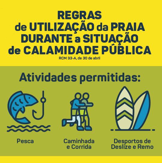 Regras de utilização da praia_situação de calamidade